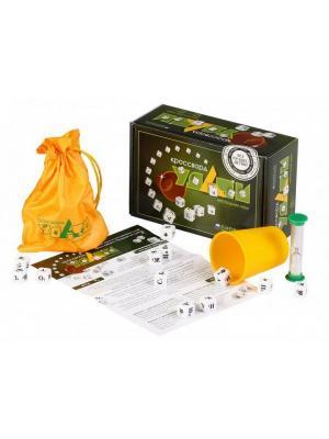 Настольная игра  Кроссворд Удачи (зеленый) БИПЛАНТ.. Цвет: зеленый