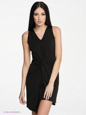 Платье JERRY MET. Цвет: черный