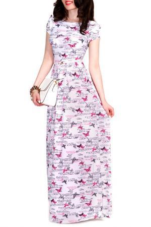 Платье FRANCESCA LUCINI. Цвет: магнолия