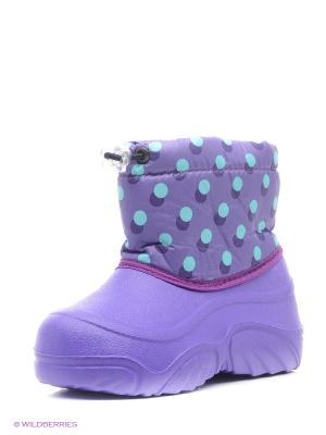 Полусапожки BRIS. Цвет: фиолетовый