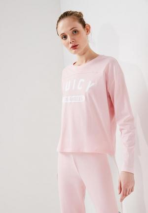 Лонгслив Juicy by Couture. Цвет: розовый