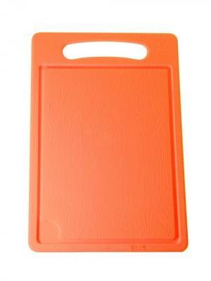 Доска разделочная №4 Plastic Centre. Цвет: оранжевый