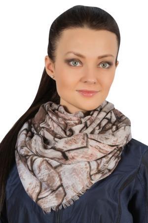 Палантин Laccom. Цвет: коричневый