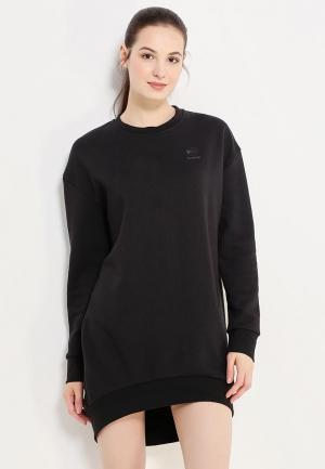 Платье Reebok Classics. Цвет: черный