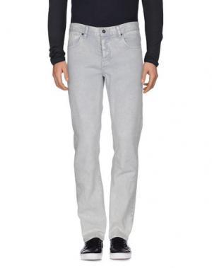 Джинсовые брюки KR3W. Цвет: серый
