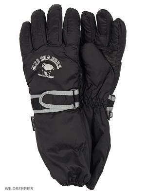 Перчатки MAXIMO. Цвет: черный