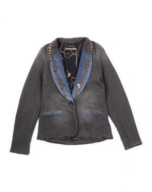 Джинсовая верхняя одежда SCOTCH R'BELLE. Цвет: свинцово-серый
