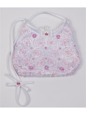 Набор для шитья и вышивания сумка Маленькая принцесса Матренин Посад. Цвет: белый, розовый