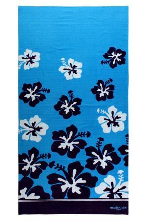 Полотенце для пляжа Marie claire. Цвет: синий
