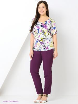 Блузка СТиКО. Цвет: молочный, голубой, салатовый, сиреневый