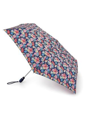 Зонт женский автомат Fulton. Цвет: синий
