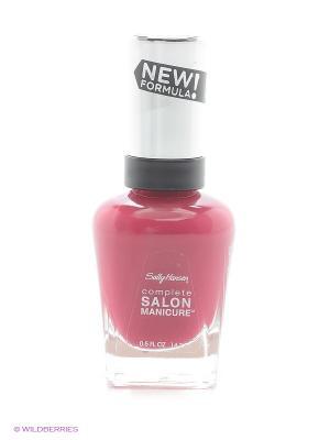 Лак для ногтей Salon Manicure Keratin, тон berry important #543 SALLY HANSEN. Цвет: малиновый