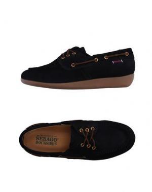Обувь на шнурках SEBAGO DOCKSIDES. Цвет: темно-синий