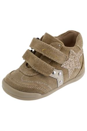 Ботинки Chicco. Цвет: бежевый