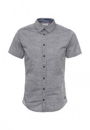 Рубашка Blend. Цвет: серый