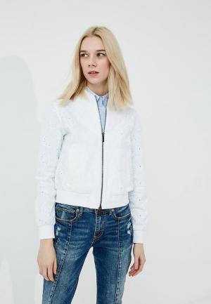 Куртка Armani Exchange. Цвет: белый