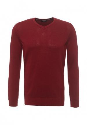 Пуловер LC Waikiki. Цвет: бордовый