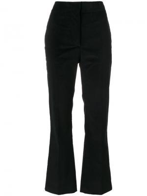 Широкие вельветовые брюки Cédric Charlier. Цвет: чёрный