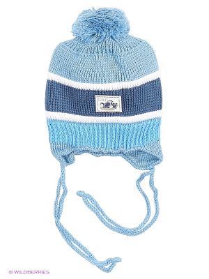 Шапки Mini. Цвет: голубой, белый