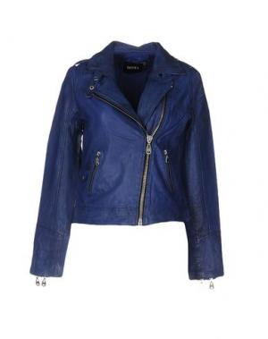 Куртка DOMA. Цвет: синий