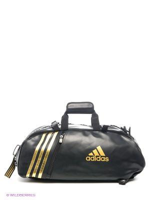 Сумка Super Sport Bag Karate Adidas. Цвет: черный