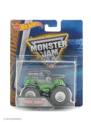 Машинки серии Monster Jam Hot Wheels. Цвет: салатовый