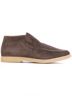Ботинки слипон Andrea Ventura. Цвет: коричневый