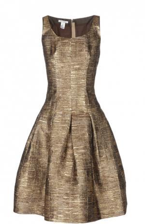 Платье Oscar de la Renta. Цвет: золотой