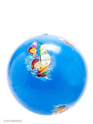 Мяч силиконовый Серфинг Larsen. Цвет: синий, красный, желтый