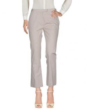 Повседневные брюки MAURIZIO PECORARO. Цвет: серый