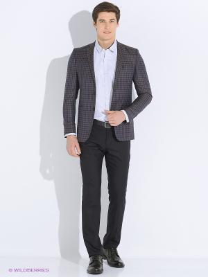 Пиджак Alex DANDY. Цвет: серый, темно-серый, бронзовый