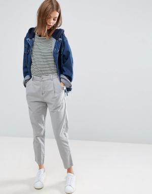 ASOS Выбеленные брюки галифе Ultimate. Цвет: мульти