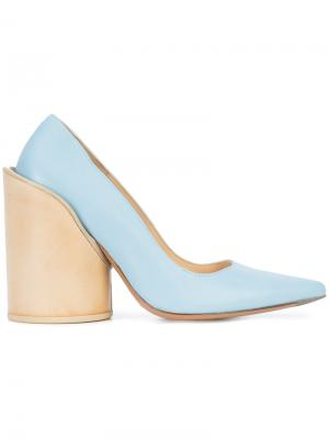 Туфли Chaussures Saintes Jacquemus. Цвет: синий