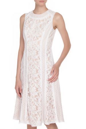 Платье коктейльное BCBG Max Azria. Цвет: белый