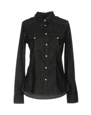 Джинсовая рубашка SMITH'S AMERICAN. Цвет: черный