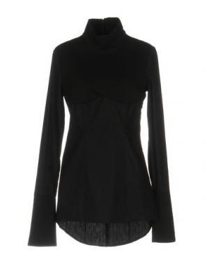 Блузка BAD SPIRIT. Цвет: черный