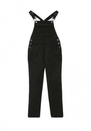 Комбинезон джинсовый Modis. Цвет: черный