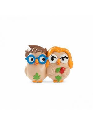 Керамическая статуэтка сова Адам и Ева, Goofi. Цвет: белый