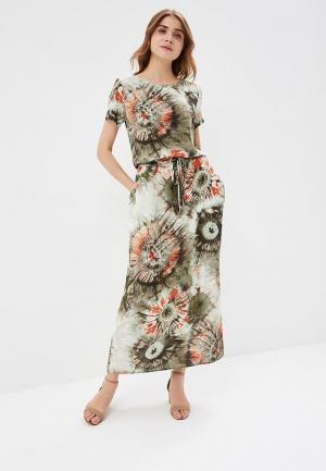 Платье Vemina City Lisa Romanyk. Цвет: хаки