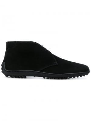 Ботинки дезерты Car Shoe. Цвет: чёрный
