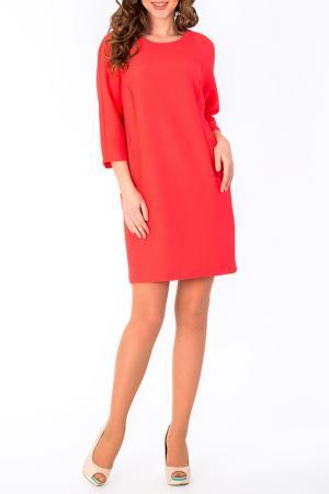 Платье S&A style. Цвет: коралл
