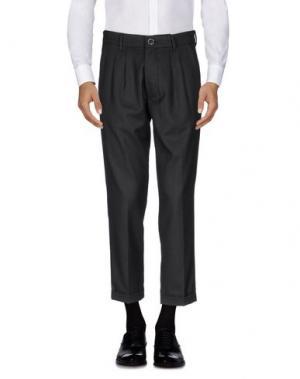 Повседневные брюки IMB I'M BRIAN. Цвет: стальной серый
