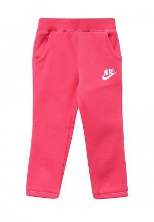Брюки спортивные Nike. Цвет: розовый