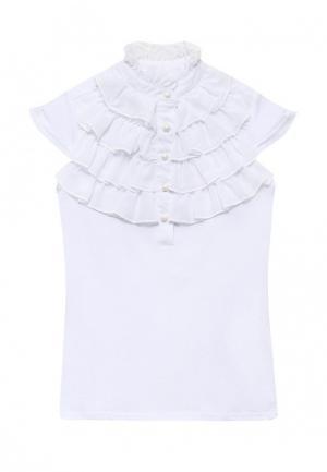Блуза Overmoon by Acoola. Цвет: белый