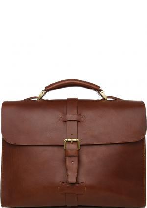 Портфель Boldrini. Цвет: коричневый