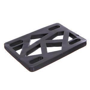 Подкладки для скейтборда  Riser Black Krooked. Цвет: черный