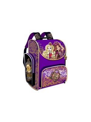 Ранец Premium Box Ever After High жесткий корпус Mattel. Цвет: золотистый
