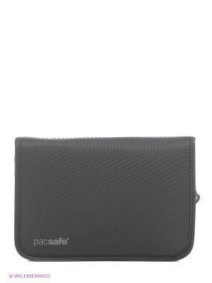 Кошелек PacSafe RFID-tec. Цвет: антрацитовый