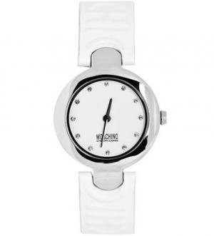 Кварцевые часы с кожаным браслетом Moschino