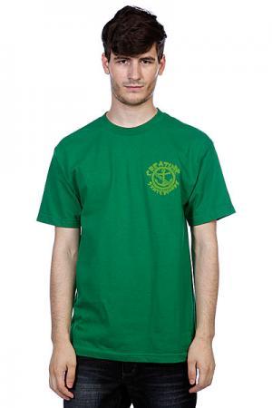 Футболка  Ftw Kelly Green Creature. Цвет: зеленый